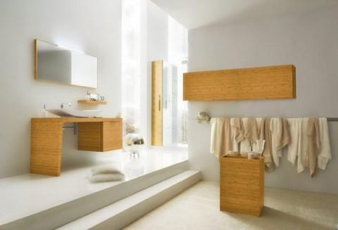 Baños con madera 4