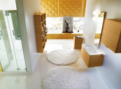 Baños con madera 5