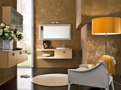 Baños con madera 6