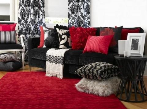 Complementos decorativos para sof s oscuros for Combinar un sofa verde oscuro