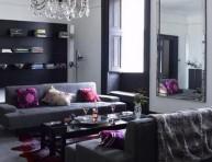 imagen Complementos decorativos para sofás oscuros