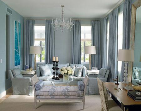 Accesorios decorativos en color azul 2