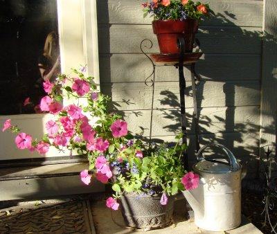 Decoración de estilo vintage para jardines 4