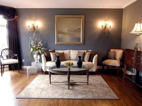 Salas de estilo romántico 1