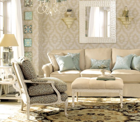 Decoraci n e ideas para mi hogar 8 lindas salas vintage for Decoracion e ideas para mi hogar