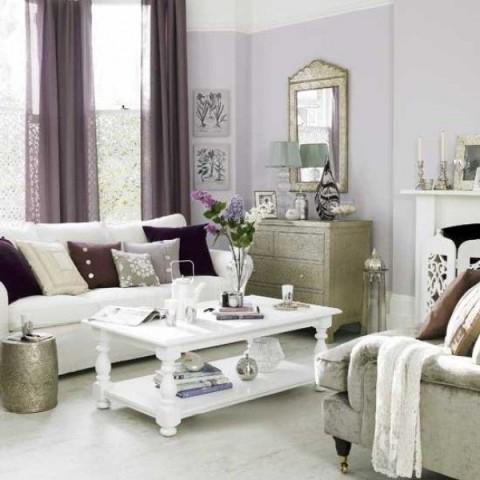Salas de estilo rom ntico - Muebles estilo romantico ...