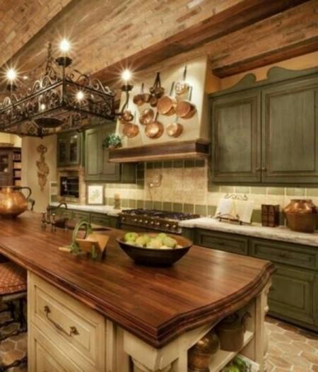 Tuscan Kitchen Decor Themes: Preciosas Cocinas De Estilo Toscano