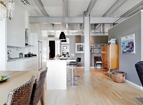 hogares de estilo industrial