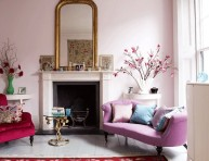 imagen Ambiente romántico en el salón
