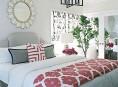 imagen Decoración de habitaciones en rosa y gris