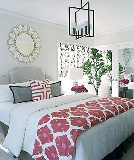 Habitaciones en rosa y gris 2