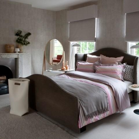 Decora tu habitaci n en rosa y gris for Habitaciones en tonos grises