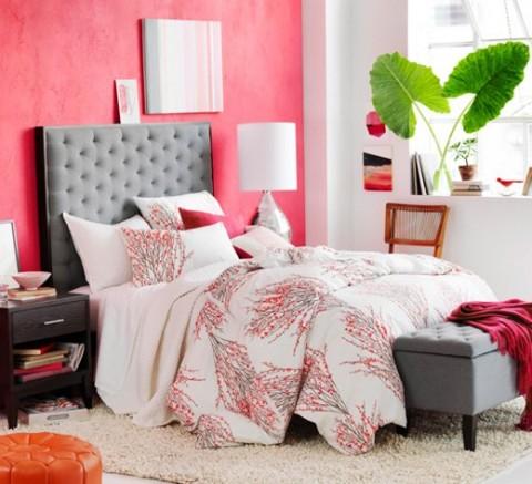 Decora tu habitaci n en rosa y gris - Habitaciones de color gris ...