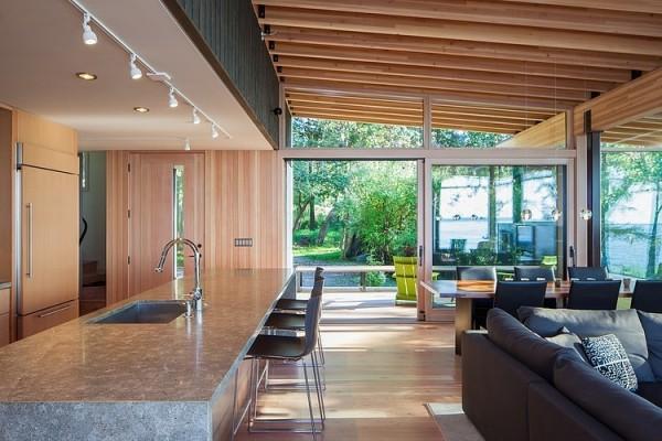 Best Una Casa Para El Descanso Casas Con Espacios Abiertos With Espacios  Abiertos En Casas.