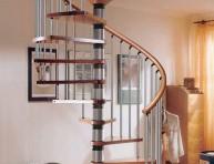 imagen Escaleras de caracol en viviendas modernas