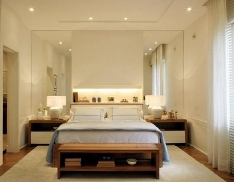 Propuestas para decorar la habitaci n con espejos grandes for Espejos grandes modernos