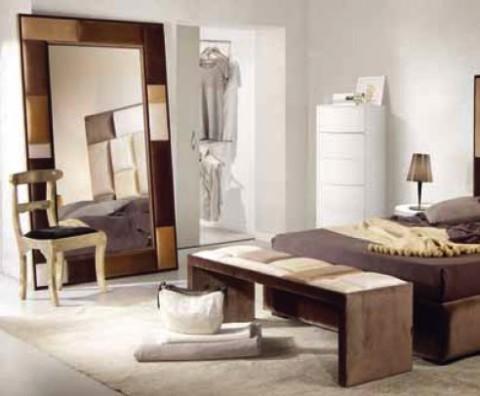 Propuestas para decorar la habitaci n con espejos grandes for Espejos enteros para habitaciones