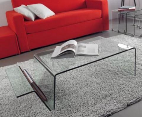 Mesas de living de cristal 2