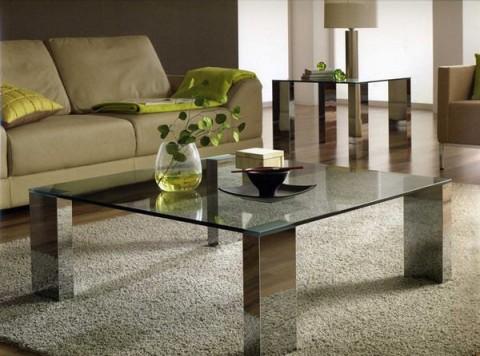 Mesas de centro en cristal - Mesas de centro de cristal modernas ...