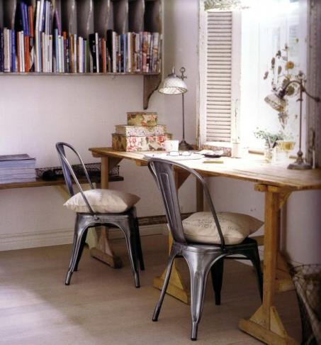Muebles de jardín en el interior 4