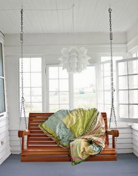Muebles de jardín en el interior 6
