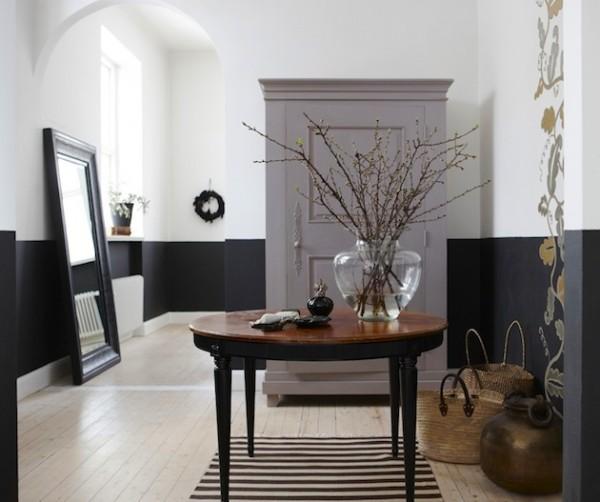 Pinta tus paredes a dos colores - Paredes rusticas interiores ...