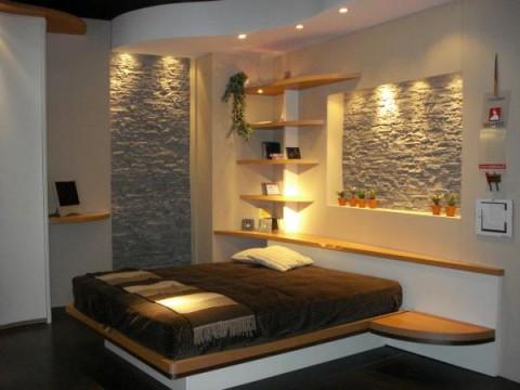 Paredes revestidas de piedra elegancia y solidez - Revestimientos interiores de paredes ...