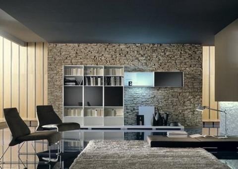 paredes revestidas de piedra elegancia y solidez