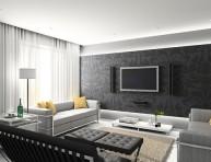 imagen Salones modernos en gama blanca