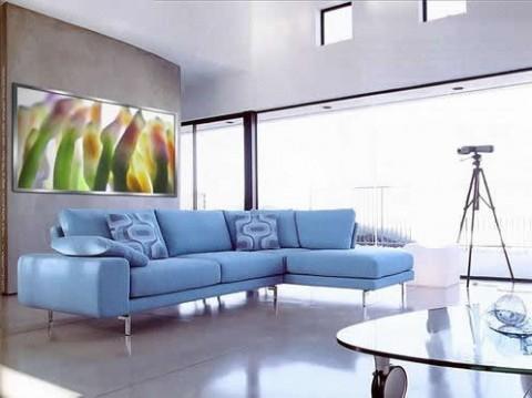 Decora con sofás coloridos 2