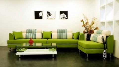 Decora con sofás coloridos 4