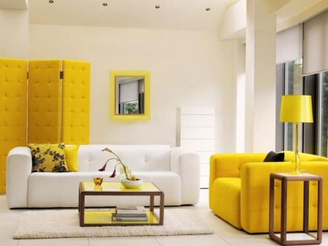 Decora con sofás coloridos 5