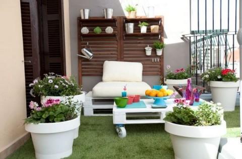 Terrazas de estilo urbano - Decorar terrazas pequenas ...