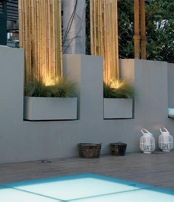 Terrazas de estilo urbano - Cana bambu decoracion interior ...