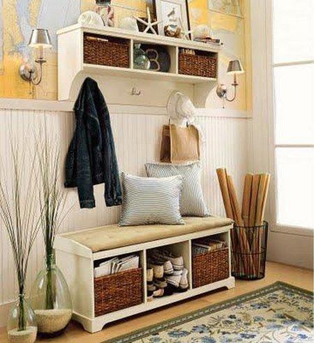 Recibidores en estilo r stico - Mueble recibidor rustico ...