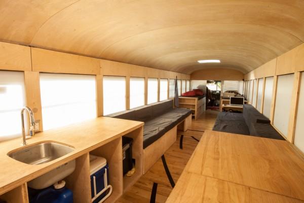 De autobús escolar a vivienda 1