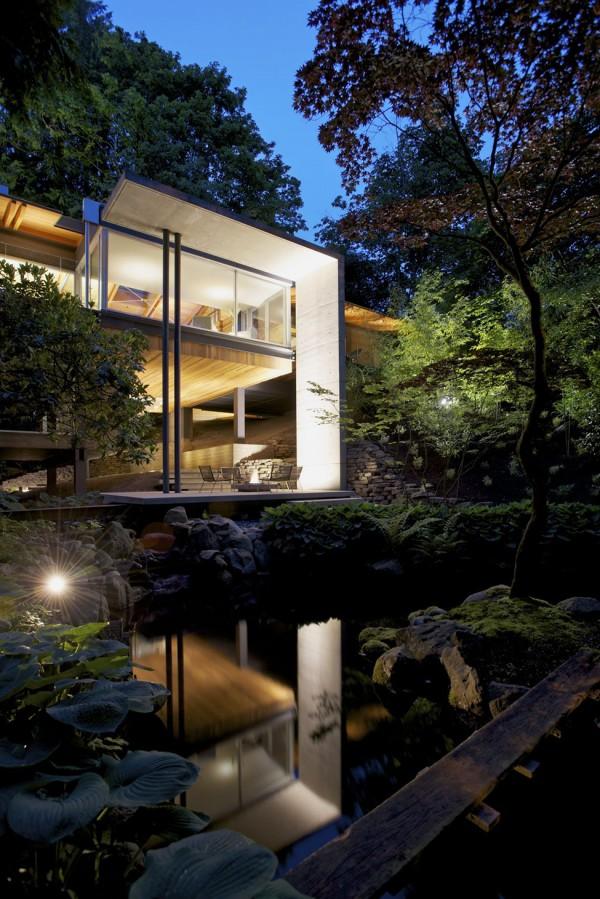Una casa sumida en la vegetación 6
