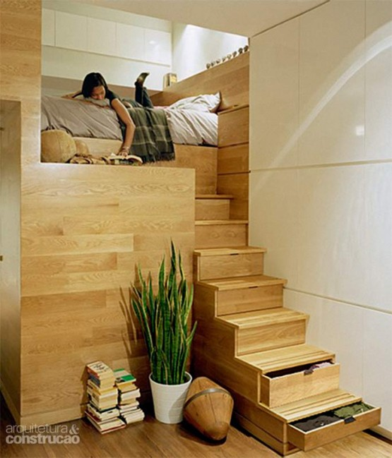 8 ideas de muebles funcionales para espacios peque os for Soluciones apartamentos pequenos