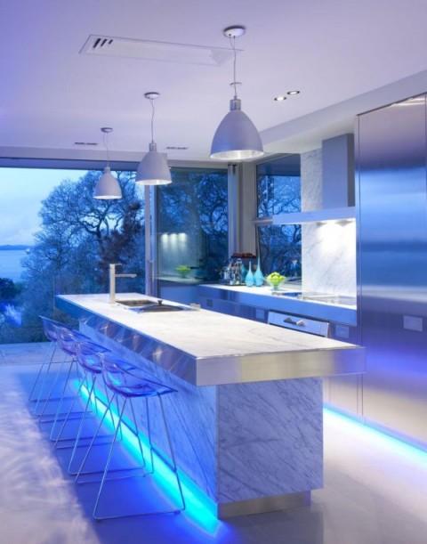 Iluminación LED de cocinas 1