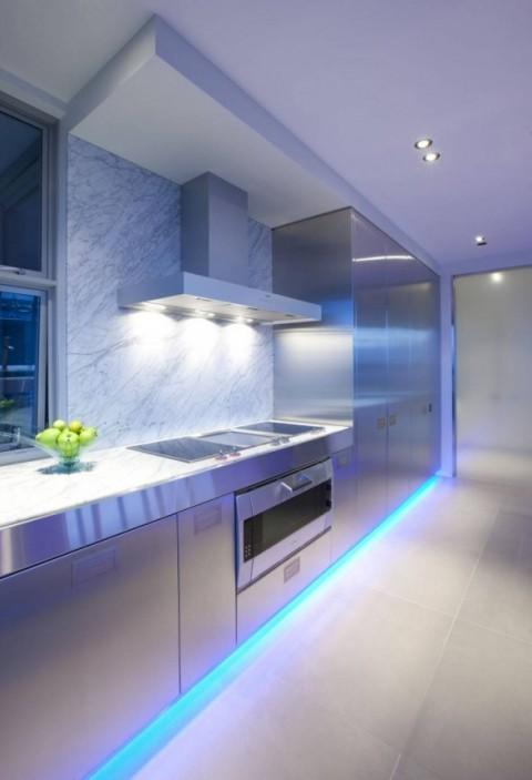 Iluminaci n led para cocinas - Luces de cocina ...