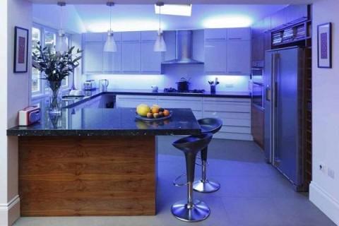 Iluminación LED de cocinas 3