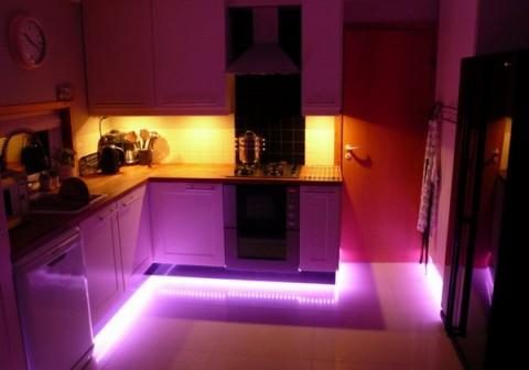 Iluminación LED de cocinas 5