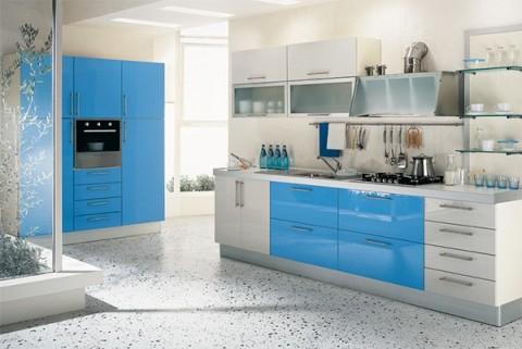 Cocinas azules 3