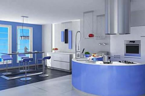 Cocinas azules 5