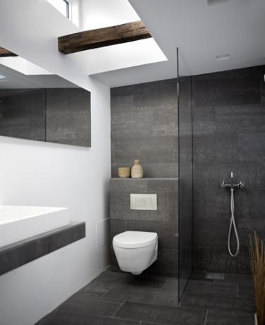 Revestimiendo de pizarra para el baño 3