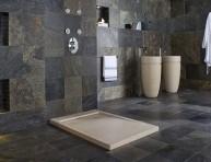 imagen Cuartos de baño revestidos de pizarra