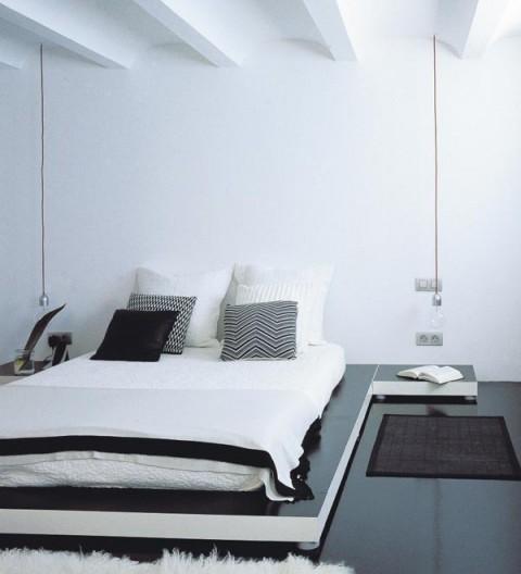Habitaciones en color blanco 2