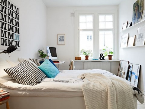 Habitaciones en color blanco 3