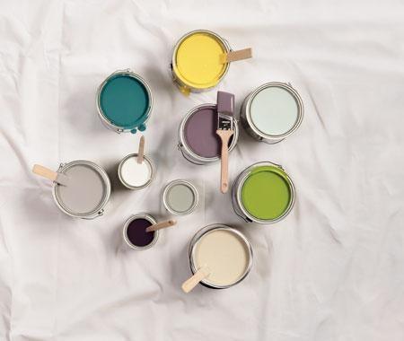 Selección del color de la pintura