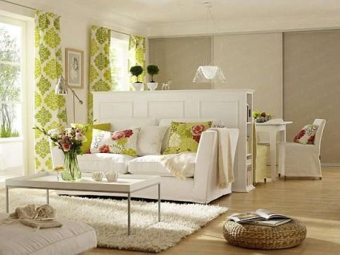 C mo hacer del living un espacio confortable - Decoracion salones rectangulares ...